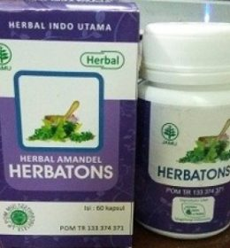 Herbal Radang Tenggorokan Herbatons